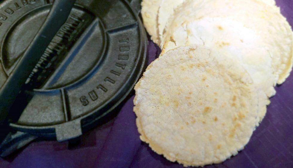 Low Histamine Cassava Tortillas