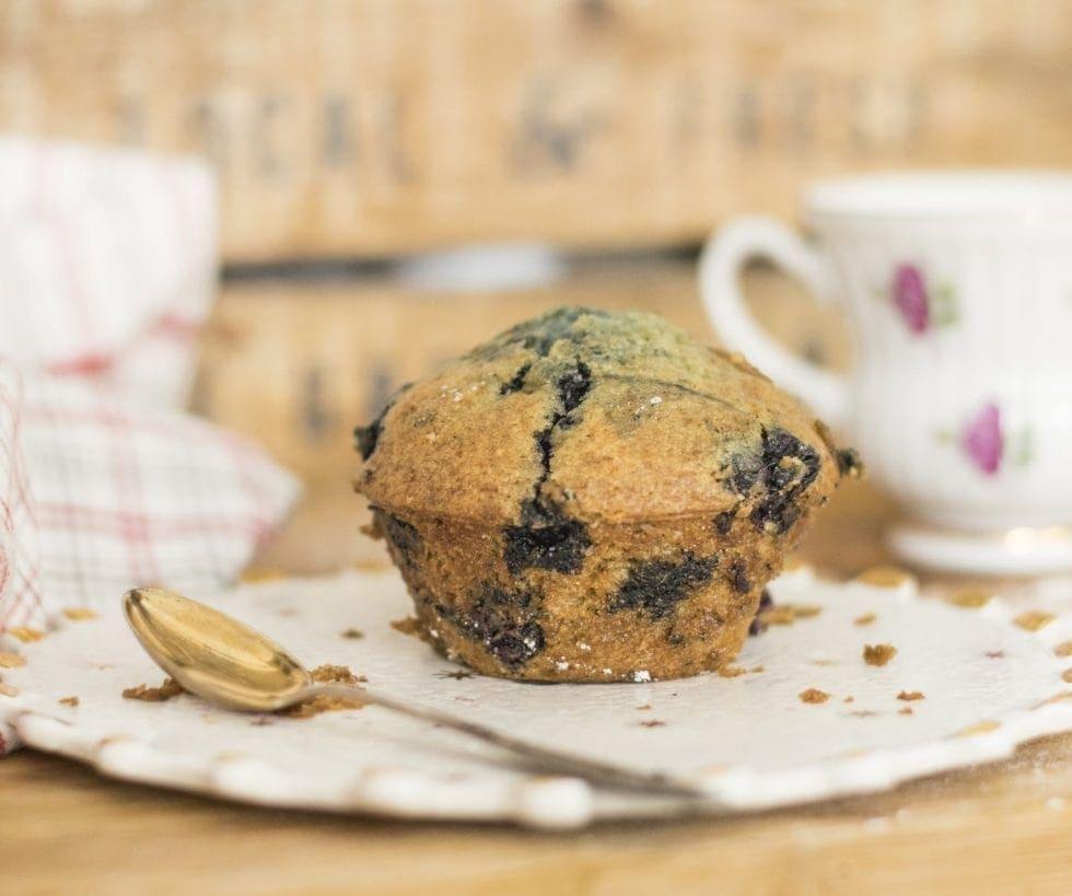 Low Histamine Cassava Flour Blueberry Muffins