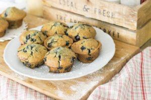 Low Histamine Cassava Flour Blueberry Muffins 2
