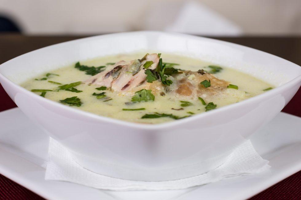 Low Histamine Creamy Cauliflower Veggie Soup