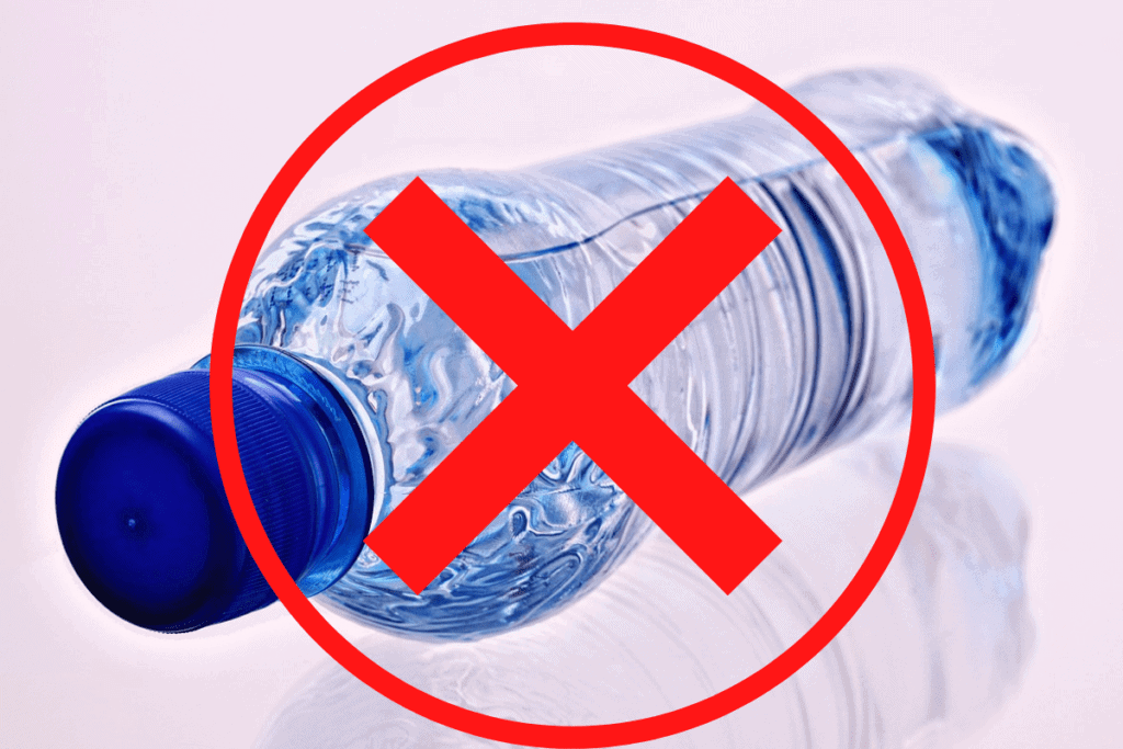 No Plastic Water Bottles