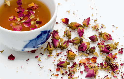 Tulsi Rose Magic Calming Tea for those with Mast Cell Activation Syndrome and Histamine Intolerance