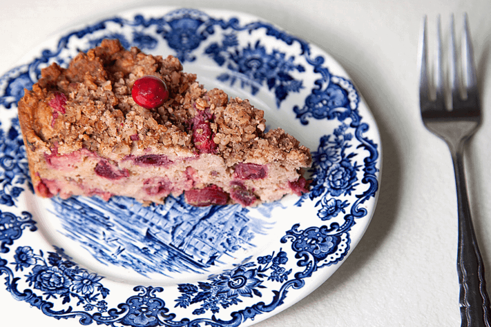 Cranberry Crumble Bar Recipe for People with Mast Cell Activation Syndrome or Histamine Intolerance