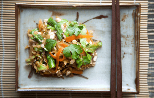 Low Histamine Spring Roll Stir Fry (Also Low Salicylate, Low FODMAP, Low Lectin, Low Oxalate) for people with Mast Cell Activation Syndrome and Histamine Intolerance
