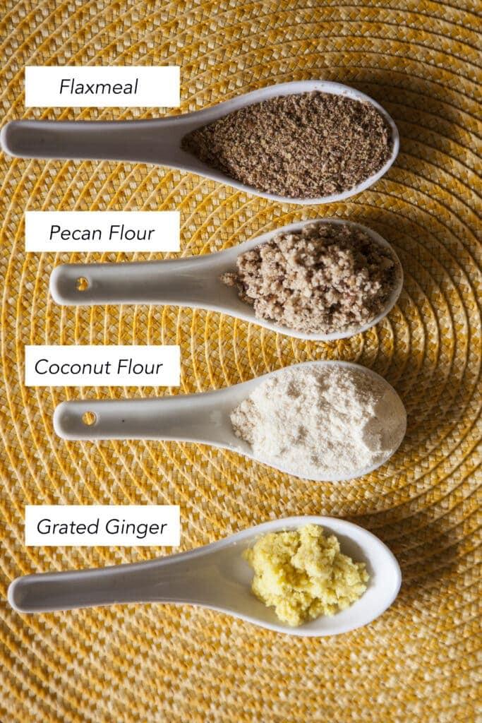 Ginger Cardamum Roll Ingredients