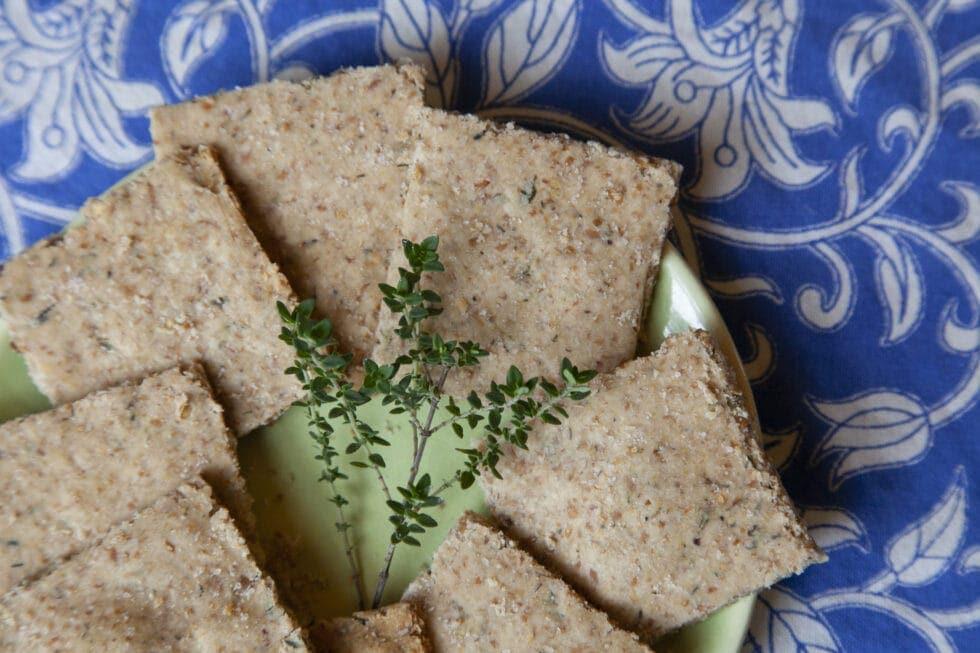 Low Histamine Cassava Herb Crackers Recipe (also low lectin, medium oxalate, low FODMAP)